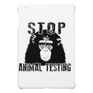 Ensayos con animales de la parada - chimpancé