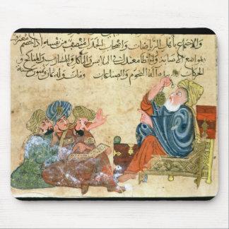 Enseñanza de Aristóteles Alfombrilla De Ratón