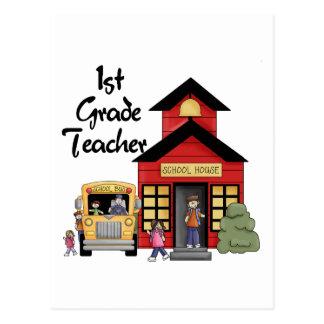 Enseñe las 1ras camisetas y regalos del profesor postal