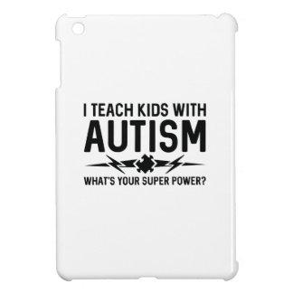 Enseño a niños con autismo