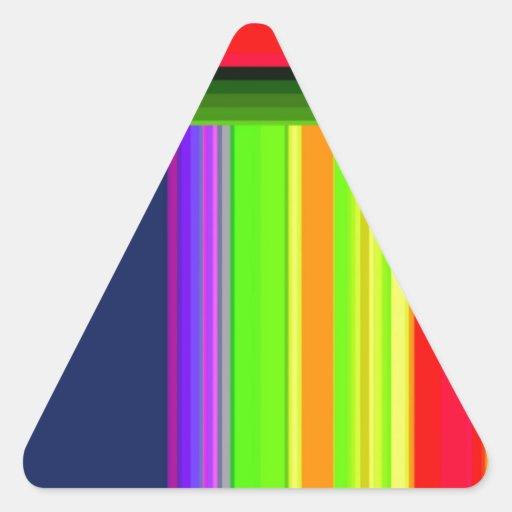 Entarimado reconstruido pegatinas trianguloes