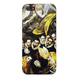 Entierro de El Greco de la cuenta del caso del iPh iPhone 5 Cobertura