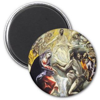 Entierro de El Greco de la cuenta del imán de Orga