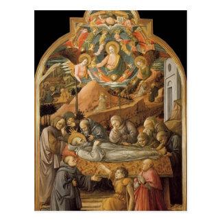 Entierro de Filippo Lippi- de St Jerome Postales