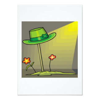 Entierro de un Leprechaun Invitación 12,7 X 17,8 Cm