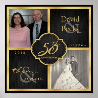 Entonces y ahora 50.o aniversario 2016 póster