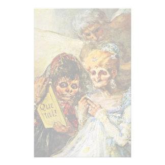 Entonces y ahora detalles de Francisco De Goya Papeleria