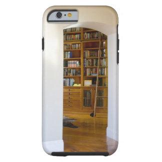 Entrada a la biblioteca casera funda para iPhone 6 tough