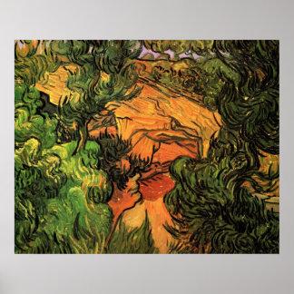 Entrada a una mina de Vincent van Gogh Póster