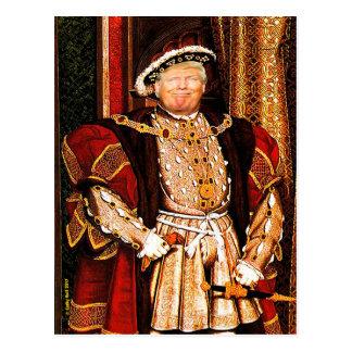 Entre en contacto con la postal de Donald J. Trump