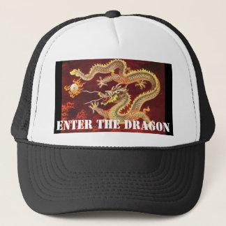 Entre en el gorra de béisbol chino del dragón del