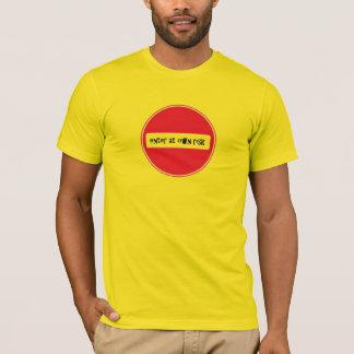 entre en propia camiseta del riesgo por el DAL