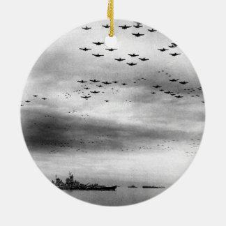 Entrega del paso elevado de USS Missouri de Japón Adorno