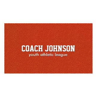 Entrenador de béisbol de la juventud tarjetas de visita