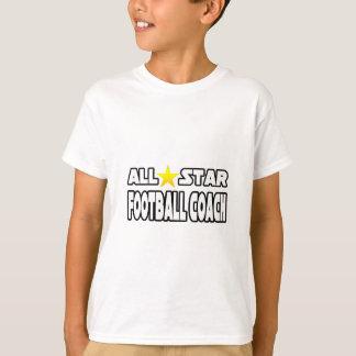 Entrenador de fútbol de All Star Camiseta