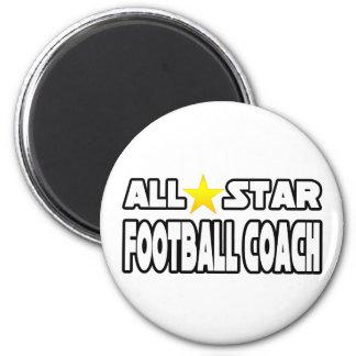 Entrenador de fútbol de All Star Imanes De Nevera
