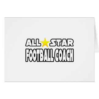 Entrenador de fútbol de All Star Tarjeta