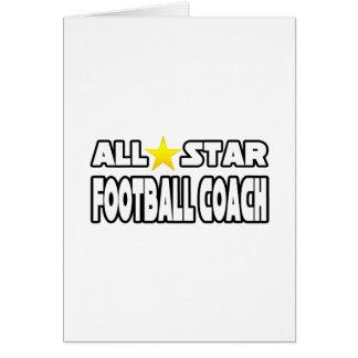 Entrenador de fútbol de All Star Tarjetón