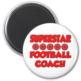 Entrenador de fútbol de la superestrella iman de nevera