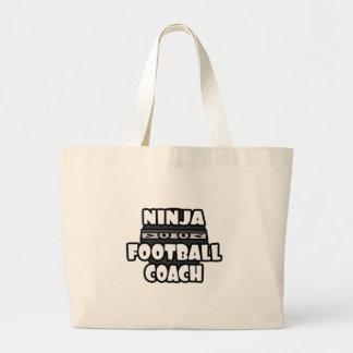 Entrenador de fútbol de Ninja Bolsa De Mano