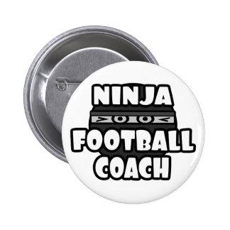 Entrenador de fútbol de Ninja Chapa Redonda De 5 Cm