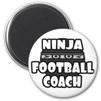 Entrenador de fútbol de Ninja Imán Redondo 5 Cm