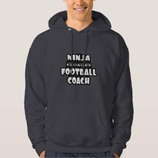 Entrenador de fútbol de Ninja Jersey Encapuchado