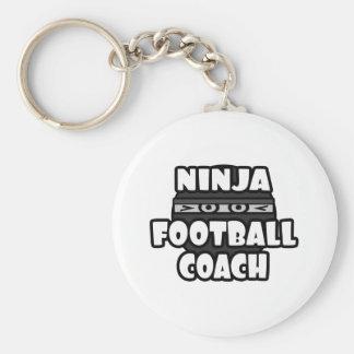 Entrenador de fútbol de Ninja Llavero