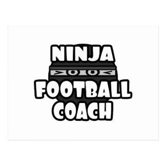 Entrenador de fútbol de Ninja Postal