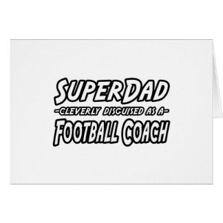 Entrenador de fútbol de SuperDad… Tarjetón