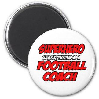 Entrenador de fútbol del super héroe… imanes