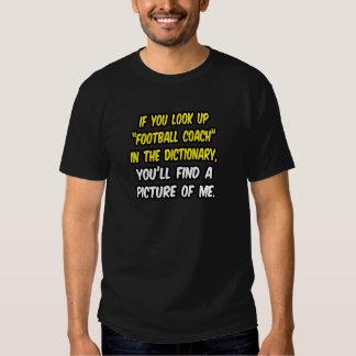Entrenador de fútbol en diccionario… mi imagen camiseta