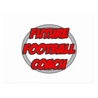 Entrenador de fútbol futuro postal