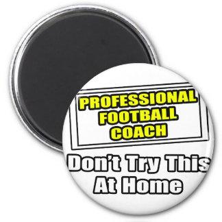 Entrenador de fútbol profesional iman para frigorífico