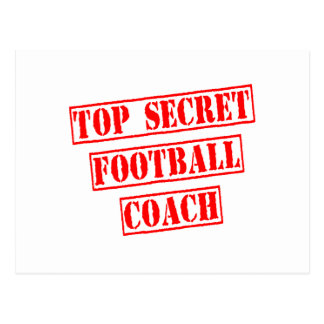Entrenador de fútbol secretísimo postal