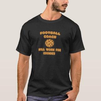 Entrenador de fútbol. Trabajará para las galletas Camiseta