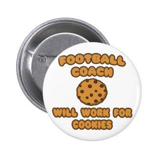 Entrenador de fútbol. Trabajará para las galletas Pins