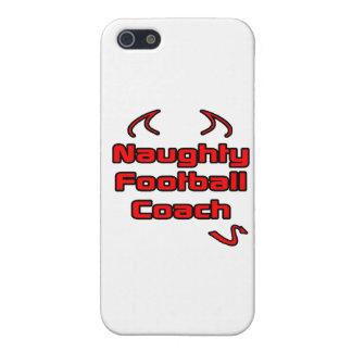 Entrenador de fútbol travieso iPhone 5 cobertura