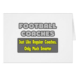 Entrenadores de fútbol… más elegantes felicitaciones