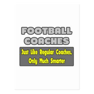 Entrenadores de fútbol… más elegantes tarjetas postales