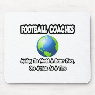 Entrenadores de fútbol… que hacen el mundo un mejo tapetes de ratón