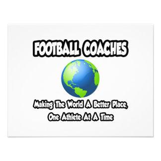 Entrenadores de fútbol… que hacen el mundo un mejo comunicados personales