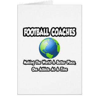Entrenadores de fútbol… que hacen el mundo un mejo tarjetón
