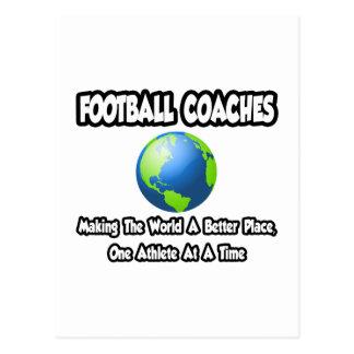 Entrenadores de fútbol… que hacen el mundo un postal