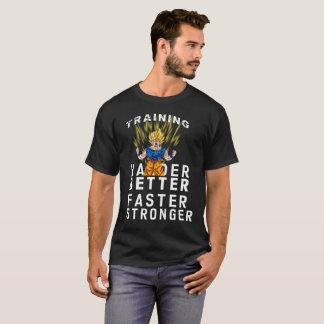 Entrenamiento a ser más fuerte estupendo camiseta