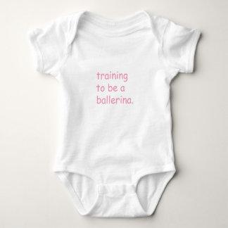 entrenamiento a ser una bailarina - bebé body para bebé