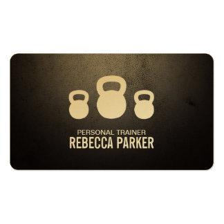 Entrenamiento personal tarjetas de visita
