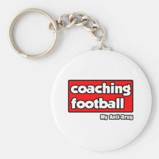 Entrenando fútbol… mi antinarcótico llaveros personalizados