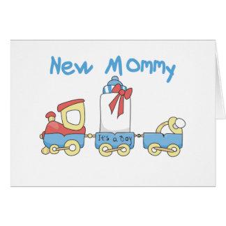 Entrene a la nueva mamá de las camisetas y de los  tarjeta de felicitación
