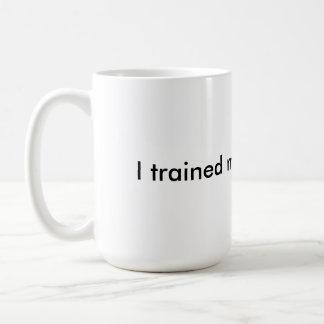 Entrené a mi cerebro para ganar - la taza de café